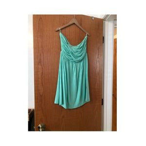 Dresses & Skirts - Strapless Knit Dress with Braided Waist Large